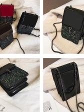 New Sequined Mini Chain Shoulder Bags