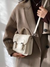 Fashion Letter Solid Shoulder Bags