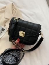 Spring Plaid Chain Shoulder Bags