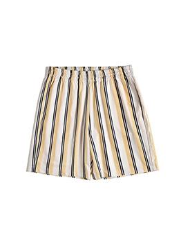 Summer Striped Men Hot Pants