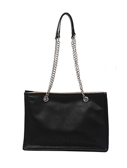 New Solid Chain Shoulder Tote Bags New Solid Chain Shoulder Tote Bags