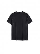 Euro Printed Short Sleeve Graphic T Shirts