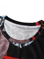 Trendy Printed Short Sleeve Graphic Tees