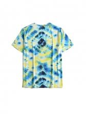 Preppy Style Tie Dye T Shirt Printing