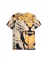 Tiger Printed Short Sleeve Cool T Shirts