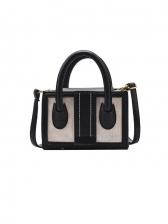 Korea Contrast Color Handbags For Women