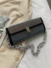 New Rhinestone Chain Ladies Handbags