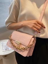 New Twist Lock Chain Ladies Shoulder Bags