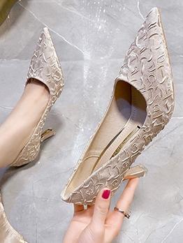 Euro Pointed Toe Women High Heel Shoes