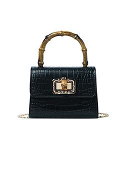 New AlligatorPrint Chain Ladies Handbags