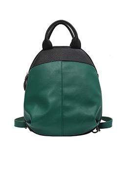 Spring Contrast Color Backpacks For Girls