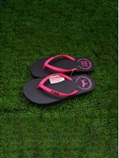 Simple Beach Round Toe Flip Flop Slippers
