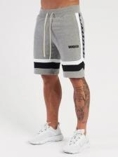 Sport Loose Drawstring Stripe Sweatpants