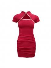 Trendy Pleated Dresses For Ladies