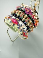 Colourful Rhinestone National Style Retro Hair Hoop