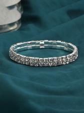 Full Rhinestone Vintage Fashion Bracelet Women