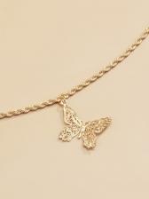 Simple Versatile Trendy Butterfly Waist Chain