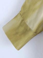 Tie Dye Loose Long Sleeve Blouse
