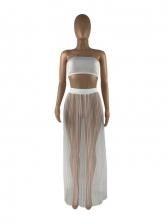 Sexy Gauze Three Piece Skirt Sets