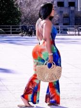 Trendy Tie Dye Jumpsuits For Women