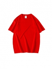 Summer Solid T Shirts For Men