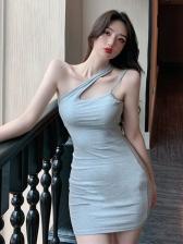 Trendy Women Two Piece Dresses Short