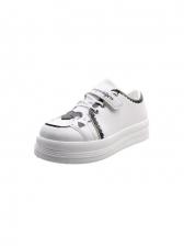 Casual Round Toe Skate Height Increasing Sneakers