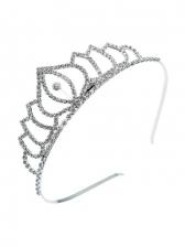 Fashion Full Rhinestone Crown Bride Hair Hoop