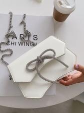 Korean Style Bow Chain Crossbody Bags