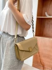 New Solid Small Shoulder Bag