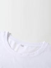 Fashion Printed Bodycon Short Sleeve T Shirt