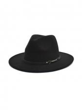 Outdoors Street Unisex Jazz Fedora Hat Vintage