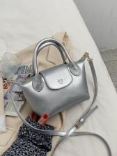 Casual Solid Korea Style Ladies Bag