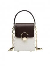 Spring Contrast Color Design Crossbody Bags