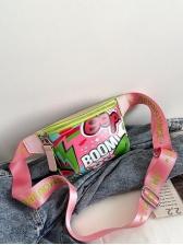 New Doodle Print Shoulder Bags