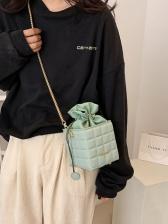 New RhombusPlaid Design Shoulder Bags