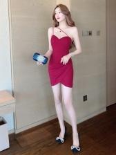 Charming Women Backless Bodycon Dress Online