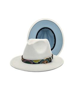 Fashion Outdoors Vintage Unisex Fedora Hats