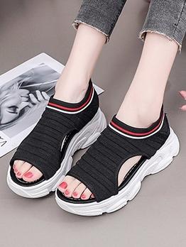 Sporty Hollow Out Women Summer Sandals