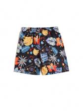 Summer Colorful Print Short Pants
