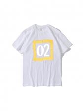 Trendy Printed Short Sleeve Oversized Shirt Men