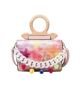 New Contrast Color Design Ladies Handbags