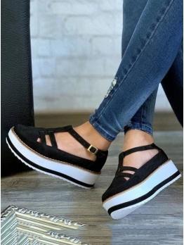 Fashion High Platform Height Increasing Shoes