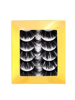 5 Pieces Pack Natural False Eyelashes