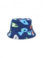 Reversible Printed Outdoors Stylish Fisherman Hat