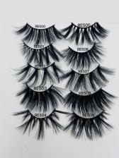Dense Black Online Style False Eyelashes Sets