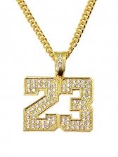 Euramerican Fashion Hip Hop Pendant Necklace
