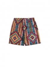 Summer Casual Print Short Pants Men