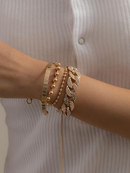 Fashion Cuba Euramerican Rhinestone Bracelet