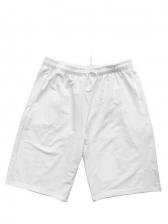 Loose Fitting Solid Drawstring Half Length Pants